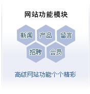 网站功能模块